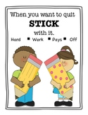 Stick With It Poster
