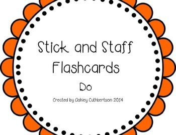 Stick and Staff Flashcards: Do