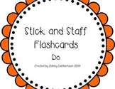 Stick and Staff Flashcards: Do