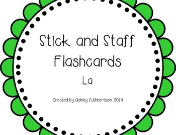 Stick and Staff Flashcards: La