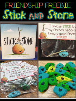 Stick and Stone - Friendship Freebie {Great Beginning of t