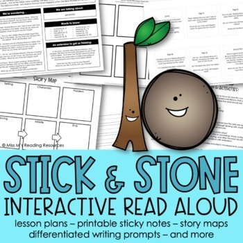 Stick and Stone Interactive Read Aloud and Activities