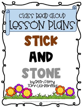Stick and Stone Read-Aloud Lesson Plans
