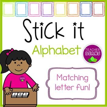 Stick it Alphabet