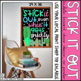 Stick it Out Cactus Bulletin Board, Door Decor, or Poster