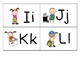 Stick kids Theme Portable Word Wall with Dolch Sight Word Cards