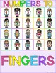 Stick n Learn - Numbers to Fingers (Great for RTI, SPED)