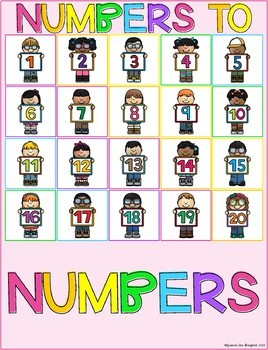 Stick n Learn - Numbers to Numbers (Great for RTI, SPED)