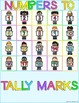 Stick n Learn - Numbers to Tally Marks (Great for RTI, SPED)