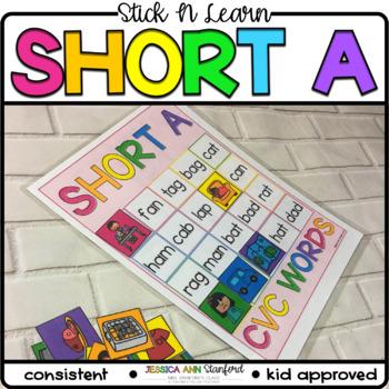 Stick n Learn - Short A