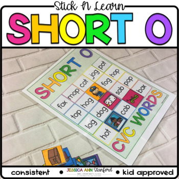 Stick n Learn - Short O