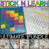 Stick n Learn ULTIMATE Bundle Velcro Activities