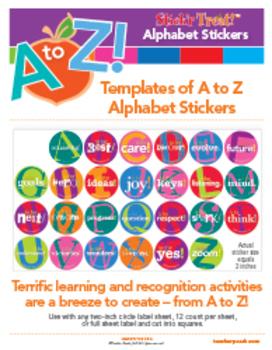 Stick'r Treat! A to Z Alphabet Stickers