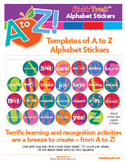 Stick'r Treat! A to Z Alphabet Stickers