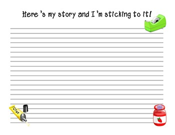 """""""Stick to It"""" - A Story Telling Activity"""