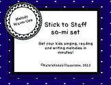 Stick to Staff- So-Mi Set