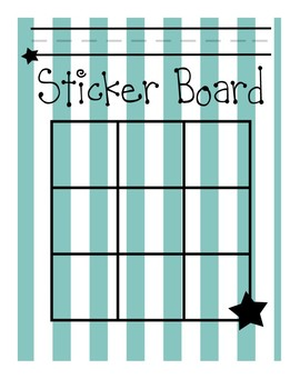 Sticker Boards
