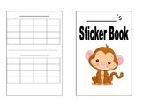 Sticker Book (Monkey)