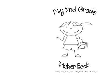 Sticker Books! - 2nd Grade