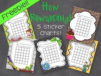 Sticker Chart Assortment