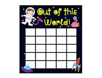 Sticker Chart FREEBIE!