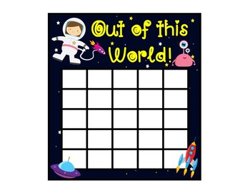 Sticker Chart FREEBIE!