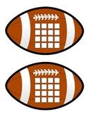 Sticker Chart - Football