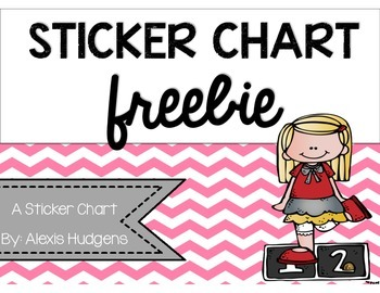 Sticker Chart Freebie