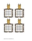 Sticker Chart - Giraffe
