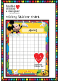 Reward Sticker Chart Mickey & Minions Inspired(Homework Ch