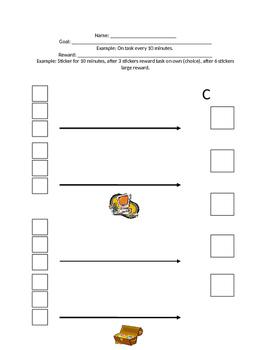 Sticker Chart Positive Reinforcement PBS