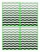 Sticker Chart Set in Chevron Theme, 16 styles {Back to School Favorite}