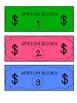 Sticker Chart & Speech Bucks