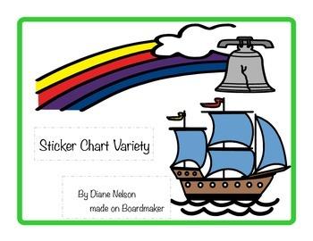 Sticker Chart Variety Pack FREEBIE!