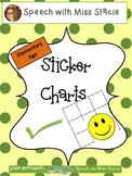 Back to School Sticker Charts