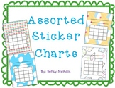 Sticker Charts- Assorted themes