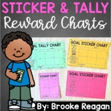 Sticker and Tally Charts: Blank and Goal Sticker Charts {E