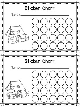 Behaviour  / Reward / Incentives / Behavior - Sticker Charts