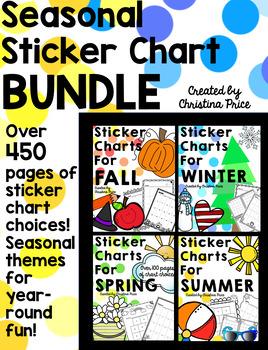 Sticker Charts Seasonal Bundle