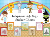 Sticker Charts -  Oz Theme