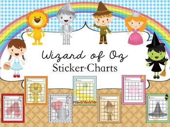 Sticker Charts -  Oz Theme