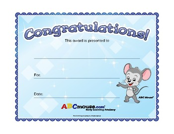 Sticker Charts and Certificates Collection
