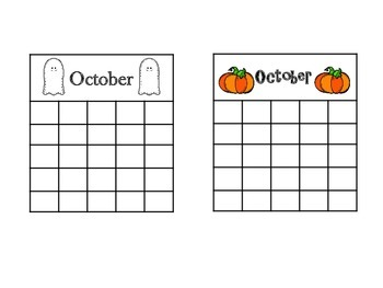 Sticker Charts for All Year