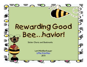Sticker Charts for Behavior and Rewards