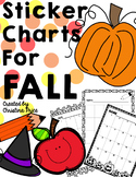 Sticker Charts for Fall