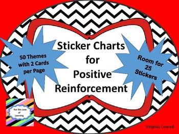 Sticker Charts for Positive Reinforcement