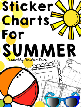 Sticker Charts for Summer