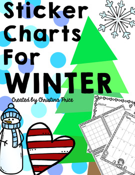 Sticker Charts for Winter