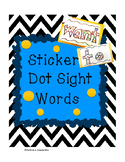 Sticker Dot Sight Words