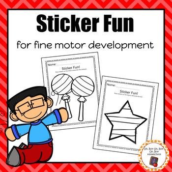 Sticker Fun for Fine Motor Development